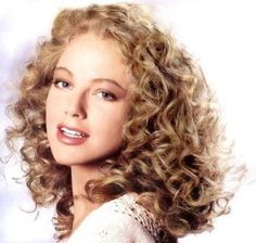 the best blonde highlights for curly hair - Google Search