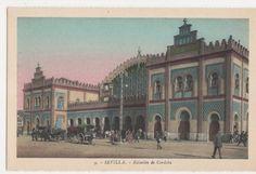 Spain, Sevilla, Estacion de Cordoba Postcard, B278   eBay