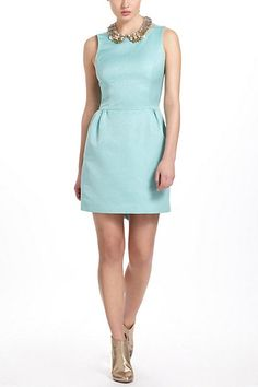 Anthropologie Robin's Egg Dress ... open back with bows ... i wish i had an excuse to buy this!