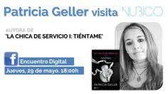 Encuentro digital con Patricia Geller en nuestro #Facebook https://www.facebook.com/NubicoEbook/app_190322544333196 #PatriciaGeller
