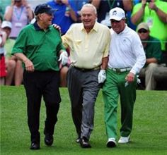 Nicklaus, Palmer and Player - 3 musketeers