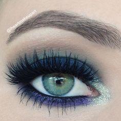 Eye Makeup Tips.Smokey Eye Makeup Tips - For a Catchy and Impressive Look Prom Makeup Looks, Cute Makeup, Makeup Geek, Simple Makeup, Makeup Tips, Beauty Makeup, Makeup Ideas, Makeup Hacks, Makeup Designs