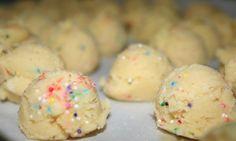 Cake Batter Truffles @ Tempting Thyme