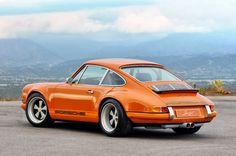 Porsche 911 by Singer And yes, i want it in orange!!!