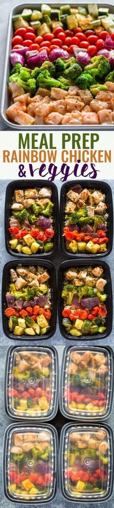 Meal Prep - Healthy Chicken and Veggies