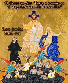Faustina Kowalska, St Faustina, Catholic Books, Catholic Art, Catholic Prayers, Roman Catholic, Diario Santa Faustina, St Joseph Statue, Year Of Mercy