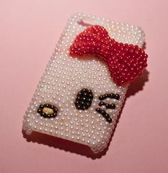 Hello Kitty cell phone case by supplyforcuties on Etsy, $27.00