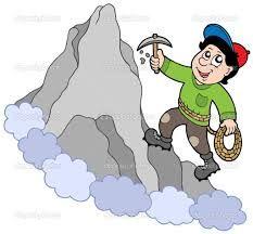 Resultado de imagem para alpinista animação