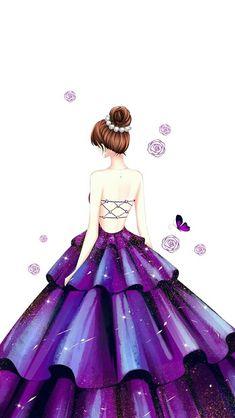 Running sporty trainers – Just Trendy Girls Fashion Drawing Dresses, Fashion Illustration Dresses, Illustration Girl, Girly Drawings, Cool Art Drawings, Dress Design Drawing, Arte Fashion, Cute Girl Drawing, Cute Girl Wallpaper