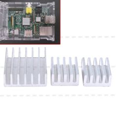 New #3pcs/set aluminum heatsink cooler #adhesive kit for cooling #raspberry pi ad,  View more on the LINK: http://www.zeppy.io/product/gb/2/331729702542/