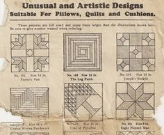 WHERE DO THE PATTERNS COME FROM?
