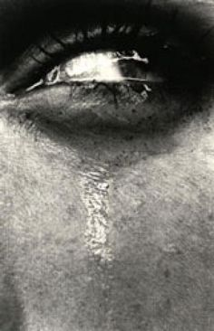 "Simonetta's Eye, Bordighera"". Photo by Helmut Newton."