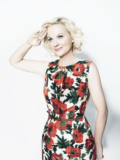 Amy Poehler photographed by Williams & Hirakawa.