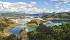 Riaño pantano.León Montañas  Spain
