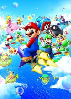 Mario Party Super Mario Bros, Mundo Super Mario, Super Mario World, Super Mario Brothers, Super Smash Bros, Pokemon, Scooby Doo Images, Mario And Princess Peach, Nintendo