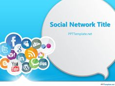 Free Social Media PPT Template - PPT Presentation Backgrounds for Power Point - PPT Template