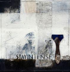 Stay Intense - Michaela Mara #MixedMedia painting
