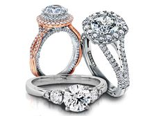 With over 1,000 engagement rings, including Verragio, Hearts On Fire, Tacori, AJAFFE, Gabriel & Co, Love Story and many more quality brands! Dream Engagement Rings, Engagement Ring Styles, Fire Heart, Fashion Rings, Gabriel, Hearts, Jewels, Archangel Gabriel, Jewelery