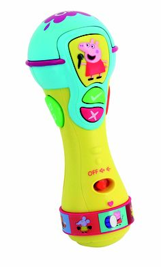 Peppa Pig Sing and Learn Microphone - http://kdplanet.com/uk/home/51-sing-and-learn-microphone.html