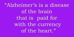 alzheimers understanding realities, comprehending signs as well as extent phases so as to offer far better support to the individual Alzheimers Quotes, Alzheimers Awareness, The Cure, Alzheimer's Symptoms, Alzheimer's Association, Brain Diseases, Alzheimer's And Dementia, Neurons