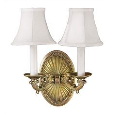 Found it at Wayfair - Candelabra 2 Light Wall Sconce