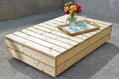 Havemøbler: Byg en flot lounge i lærk   Gør Det Selv Diy Outdoor Furniture, Garden Furniture, Outdoor Sofa, Outdoor Living, Outside Living, Backyard Projects, Hacks Diy, Outdoor Gardens, Lounges