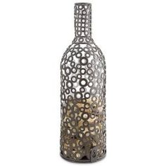 $23.95-$35.93 A fun and innovative way for your customers to keep and cherish all of their wonderful wine memories. This artfully welded Cork Cage, made from metal rings also makes a great gift with a wine bottle placed inside! For cork collection, just drop your treasured corks in the top. To retrieve the corks, the Encircle Cork Cage opens from the bottom.
