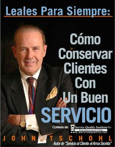 Como conservar clientes con un buen servicio - John Tschohl - PDF - Español http://helpbookhn.blogspot.com/2014/10/como-conservar-clientes-con-un-buen-servicio-John-Tschohl.html