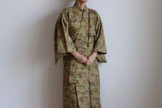 Etsy のcotton kimono, Japanese Kimono, Japanese dress, Japanese scenery /610(ショップ名:LitreJapan)