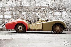 Triumph TR3 à restaurer
