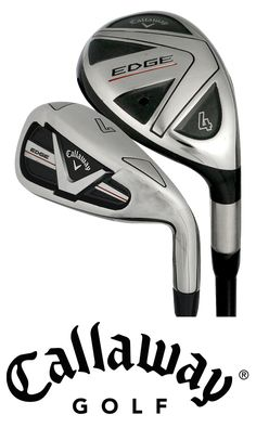 Callaway #Golf Edge Hybrid Irons #golfclubs #Callaway #CallawayGolf | Rock Bottom Golf #rockbottomgolf Golf Club Sets, Golf Clubs, Callaway Golf, Rock Bottom, Irons, Lifestyle, Accessories, Iron, Jewelry Accessories
