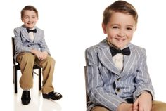 www.frostedproductions.com | #utah #photographer #studio #photography #white #backdrop #cute #ideas #for #child #portraits #pinstripe #suit #for #little #boys
