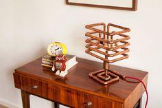 Lámpara de mesa de cobre de ARBO