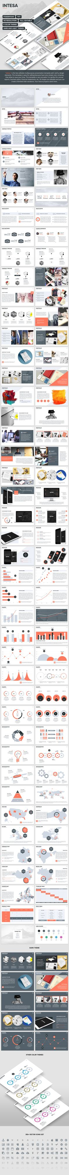 Intesa - PowerPoint Template. Download here: http://graphicriver.net/item/intesa-powerpoint-template/15331363?ref=ksioks