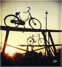 Bike Fly At Dusk by @Karen Jacot Tande!