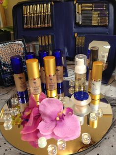 Anti-Aging Skincare combined into Long-Lasting Color cosmetics!  Samples available www.mybeauty411.com