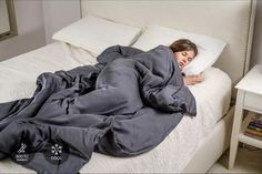 The weighted blanket for better sleep. Engineered to help you sleep better, faster, and longer. All of our blankets use luxury fabrics, don't bunch, and are machine washable. Weighted Blanket For Adults, Best Weighted Blanket, Bamboo Blanket, Couch Throws, Large Blankets, Flexibility Workout, Cool Chairs, Blue Chairs, Accent Chairs