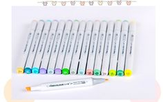 Sketch Marker Pens Finecolour 2nd Generation Oily Alcoholic 24 32 48 60 72 Colors Set Artist Double Headed Art Copic Marker-in Art Markers from Office & School Supplies on Aliexpress.com | Alibaba Group