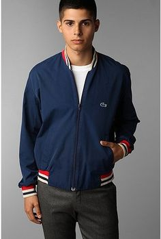 Vintage Lacoste jacket for my handsome hubby