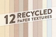 Recycled paper texture pack comes with three high resolution Photoshop textures. The package includes all three textures as a Photoshop 72dpi RGB pattern file, a Photoshop 300dpi CMYK pattern file, and all three patterns as tillable 300dpi CMYK JPEGs and tillable 72dpi RGB JPEGs. Textures come in 1024px by 1024px. Screenshots