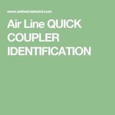 Air Line QUICK COUPLER IDENTIFICATION