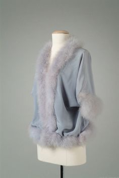 Bed Jacket  1934  The Meadow Brook Hall Historic Costume Collection
