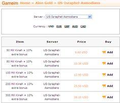 Get 10% bonus when you buy aion gold on www.gameim.com