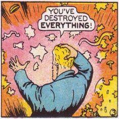 weird-oh sights and sounds from modern art to retro raunch Comics Love, Comics Girls, Funny Comics, Comics Vintage, Old Comics, Comic Books Art, Comic Art, Book Art, Bd Pop Art
