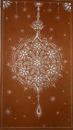 Snowflake mandala by ~AniDandelion on deviantART  #doodle #pattern #mytumblr