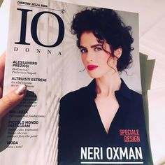 Imagine my delight when I saw the talented architect-designer Neri Oxman on the cover of an Italian magazine design special of IO Donna Italy at the restaurant I where I dined - and I'm so excited to actually get to meet her today at the La Triennale di Milano design museum as she is the designer of this year's Lexus Design Event & exhibition! Lexus Design Award | Best of highlights Milan Design Week 2017