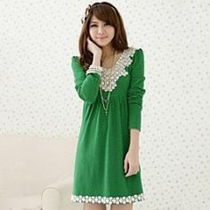 YINQIANMaternity's Stretchy Cotton Long In Pregnant Women Dress