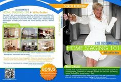 Nationally recognized home staging pioneer and real estate expert, Lise Desormeaux, teaches the easy to learn do-it-yourself techniques for decorating clutter free and home staging. http://www.homestaging101dvd.com/get-dvd-now/