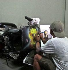 Paint & Sticker Art - Motorcycle & Vespa | Island Motorcycles