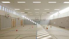 Sporthalle Franz-Mehring-Schule Leipzig
